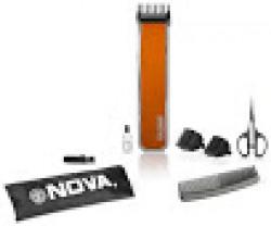 Nova NHT 1055 O Trimmer For Men (Orange & Black)