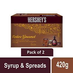 Hershey's Festive Gourmet 420gm x 2 (Pack of 2)