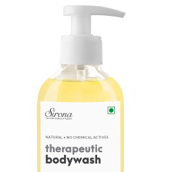 Sirona Natural Anti Fungal Therapeutic Body Wash - 200 ml   with 5 Magical Herbs - Help Reduce Body Odor, Itching, Promotes Healthy Feet, Skin and Nails