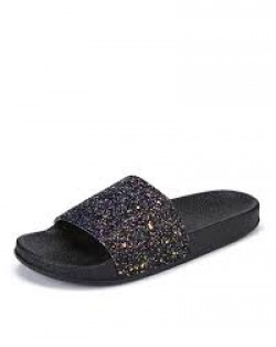 BERSACHE Shimmery Textured Slides