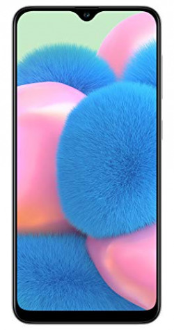 Samsung Galaxy A30s (Prism Crush White, 4GB RAM, 64GB Storage) with No Cost EMI/Additional Exchange Offers