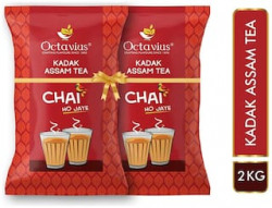Octaviuskadak assam CTC tea 1kg (pack of 2)