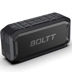 Fire-Boltt Xplode 1500 Portable Bluetooth Outdoor Speaker, IPX7 Waterproof & Weatherproof with Enhanced Bass (Black)