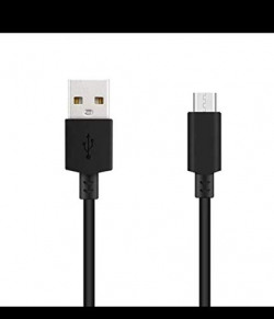 Fast Charging Black USB Data Cable