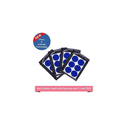 Safe-O-Kid - Pack of 24 - Mosquito Repellent Patches (Blue)