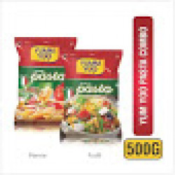 YUMMYOO Taste and Yummy Penne and Fusilli Pasta 500 g Each Pack (Pack of 2)