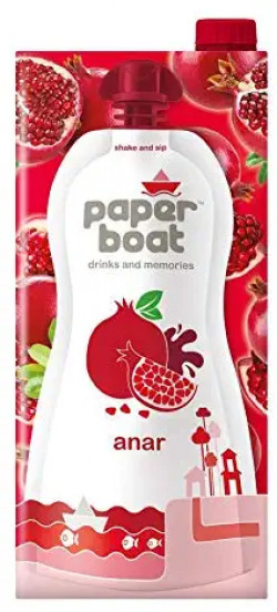 Paper Boat Anar 1L (Pack of 2) Rs. 218 - Amazon