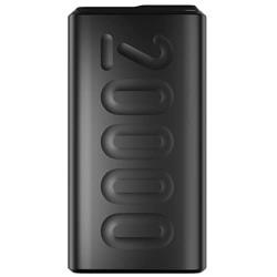 Ambrane 20000mAh Lithium Polymer Power Bank (Stylo-20K, Black)