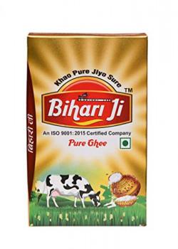 Bihari Ji Pure desi Ghee 1 LTR TetraPack