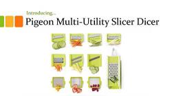Pigeon Multi Utility Fruit and Vegetable Slicer Dicer (13)
