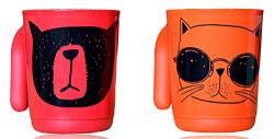 Tupperware Illumina Mug Drinking Buddies (Set of 2) 350 ML