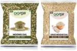 Goshudh Moong Dal 750g And Urad Mogar Dal 750g (Pack of 2)