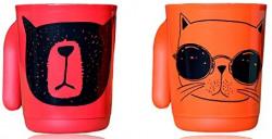 Tupperware Illumina Mug Drinking Buddies (Set of 2) 350 ML 64% off  ₹199 MRP: ₹ 550.00 Save ₹ 351.00