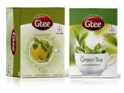 GTEE Green Tea Bags - Regular & Tulsi Tea Bags, 25 Tea Bags (Pack of 2) Rs. 232 - Amazon