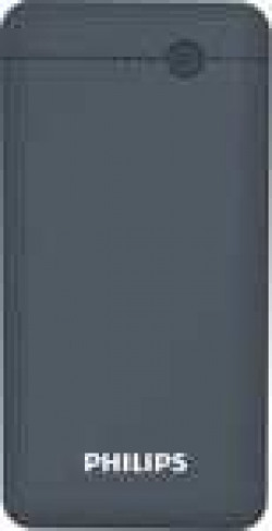 Philips 10000 mAh Power Bank (Fast Charging, 10 W) (Blue, Lithium Polymer)