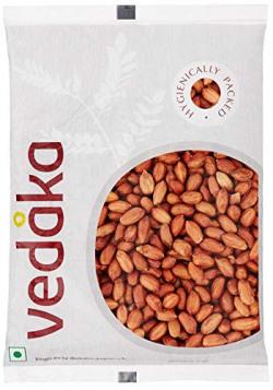 Amazon Brand - Vedaka Raw Peanuts, Red, 1kg