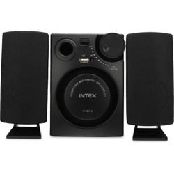 Intex IT 881U 16 W Laptop/Desktop Speaker(Black, 2.1 Channel)