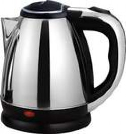 Ortan Longlife (R) 1.8 L Stainless Steel Quick Heating Tea - Water Boiler Heater Pot Electric Kettle (1.8 L, Silver)