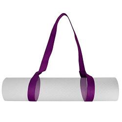 Strauss Yoga Mat Strap, (Purple)