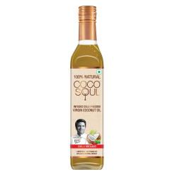 Coco Soul Chilli Oregano Infused Oil Bottle, 250 ml
