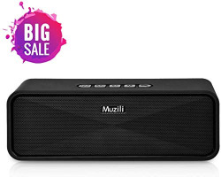 Axloie Bluetooth Speakers for Mobile Desktop Laptop Stereo Sound Answer Call 12H Playtime 10W Driver DJ Speaker Wireless with Pendrive USB Mic SD Card Aux Port for Home Travel