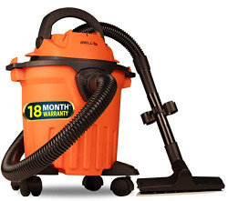 iBELL 1212WB Wet and Dry 1000Watts 12 Litre Vacuum Cleaner with Washable HEPA Filter