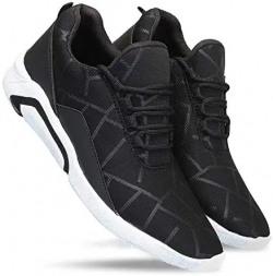 Zenwear Men's Canvas Black Lace-Up Sports Shoes min 69%