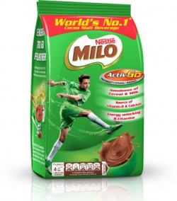 Nestle MILO Activ-Go Powder Pouch Nutrition Drink  (400 g, Chocolate Flavored)