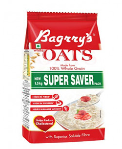 Bagrry's White Oats 1.5kg Pouch