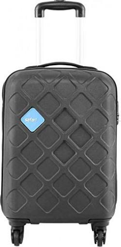 Safari Mosaic Cabin Luggage - 55 cms (Black)