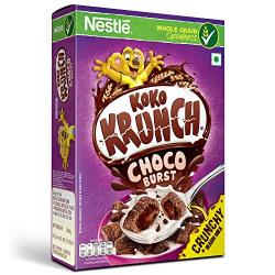 Nestle Koko Krunch Breakfast Cereal - Choco Burst, 500 g Box