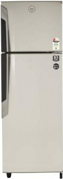 Godrej 330 L Frost Free Double Door 2 Star (2019) Refrigerator  (Sleek Steel, RF GF 3302 PTH SLK STL)