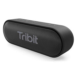 Tribit XSound Go Bluetooth Speakers - 12W Portable Speaker Loud Stereo Sound, Rich Bass, IPX7 Waterproof, 24 Hour Playtime, 66 ft Bluetooth Range & Built-in Mic Outdoor Party Wireless Speaker-[The Wirecutter's Pick]