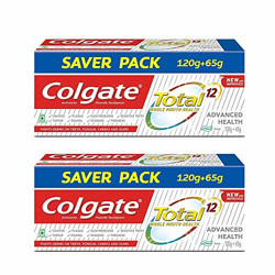 Colgate Total Advanced Health Cavity Protection Toothpaste - 185 gram (Pack Of 2)