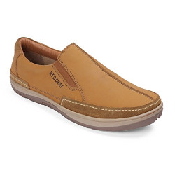 Red Chief Men's Rust Leather Boat Shoes-7 UK/India (41 EU) (RC3553 022)