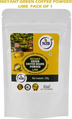 N2B Instant Green Coffee Lime 230g Pack of 1 Instant Coffee(230 g, Green Coffee Flavoured)