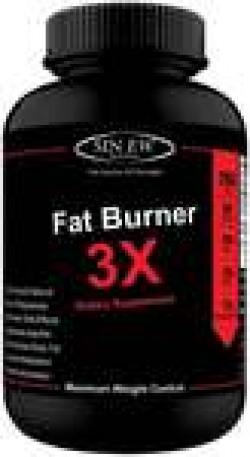 Sinew Nutrition Natural Fat Burner 3X (Green Tea Green Coffee & Garcinia Cambogia Extract) - 700 mg