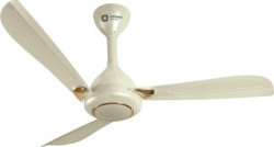 Orient Electric Oprah 1200 mm 3 Blade Ceiling Fan(Ivory Gold, Pack of 1)