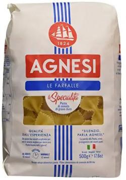 Agnesi Farfalle Pasta, 500g Rs. 220 - Amazon