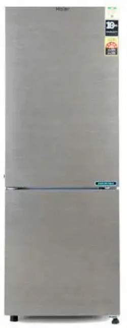 aier 276L 3 Star (2019) Frost Free Bottom Mount Double Door Refrigerator (HRB-2963BS-E, Brushline Silver)