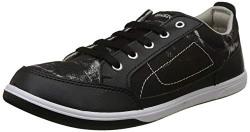 Unistar Men's Black Sneakers- 6 UK/India (40 EU) (E-6001)