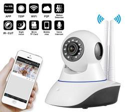 Dual Antina HD WiFi Camera CCTV Indoor Security CCTV Camera