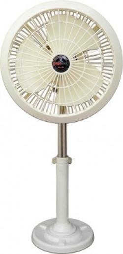 DIGISMART High Speed Mini Pedestal Farata Fan 300 mm Energy Saving 3 Blade Pedestal Fan(ivory, Pack of 1)
