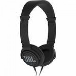 JBL C300SI On-Ear Dynamic Wired Headphones, Without Mic (Black
