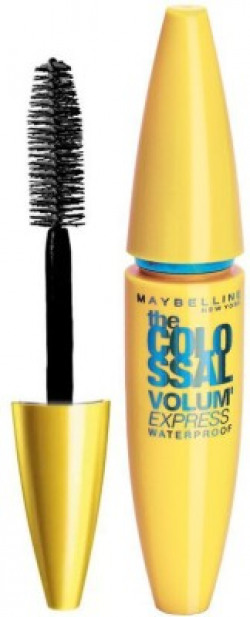 MAYBELLINE NEW YORK New York Volume Express Colossal Masacara, Waterproof 10 ml(Black)