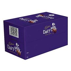 Cadbury Dairy Milk Chocolate Bar, 12g (Pack of 56)