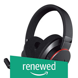 (Renewed) CREATIVE Sound BlasterX H6 USB Gaming Headset with 7.1 Virtual Surround Sound, Memory Foam Fabric Earpads, Hardware EQ Modes, Ambient Monitoring and RGB Lighting for PS4, Xbox One, Nintendo Switch, PC