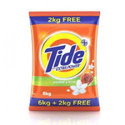 Tide Detergent Washing Powder - Lemon & Mint  Extra Power  Tide+ 8 kg      Tide Detergent Washing Powder - Lemon & Mint Extra Power Tide+ 8 kg