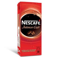 Nescafe Intense Cafe, Ready-To-Drink Cold Coffee, 180Ml Tetra Pak