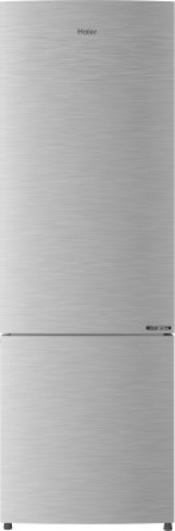 Haier 256 L Frost Free Double Door Bottom Mount 3 Star (2020) Convertible Refrigerator(Brushline Silver, HEB-25TDS)